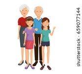 happy family icon | Shutterstock .eps vector #659077144