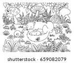 vector illustration of a... | Shutterstock .eps vector #659082079