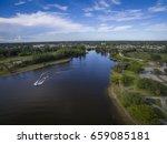 lake in pembroke pines florida. | Shutterstock . vector #659085181