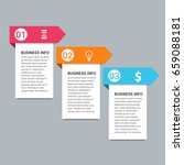 modern infographic template | Shutterstock .eps vector #659088181