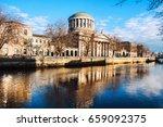 dublin  ireland. four courts... | Shutterstock . vector #659092375