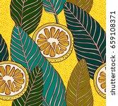 vintage style seamless pattern  ... | Shutterstock .eps vector #659108371