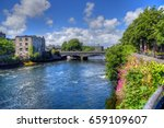 Galway  Ireland And The River...