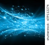 best internet concept of global ...   Shutterstock . vector #659112274