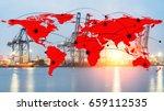 container cargo freight ship