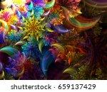 Helix Fuzzy Bright Background ...