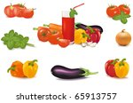 the big colorful group of... | Shutterstock .eps vector #65913757