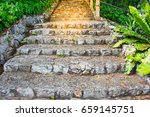 Stone Stair  With Stairway To...