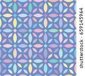 vector color flower pattern....   Shutterstock .eps vector #659145964