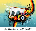 vector color abstract... | Shutterstock .eps vector #65914672