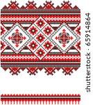 embroidered good like handmade... | Shutterstock .eps vector #65914864