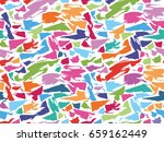 pattern texture repeating...   Shutterstock .eps vector #659162449