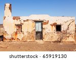 old single abandoned house in... | Shutterstock . vector #65919130
