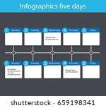 infographics for five zones....   Shutterstock .eps vector #659198341