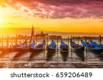 Sunrise In San Marco Square ...