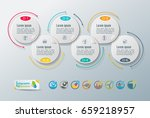 collection of vector... | Shutterstock .eps vector #659218957