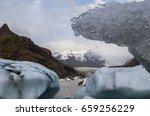 Texture Of A Melting Iceberg...