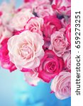 close up floral composition... | Shutterstock . vector #659273251