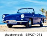 close up renault caravelle or... | Shutterstock . vector #659274091