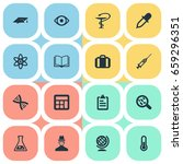 vector illustration set of... | Shutterstock .eps vector #659296351