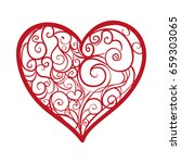 heart and love | Shutterstock .eps vector #659303065