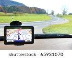 satellite navigation system | Shutterstock . vector #65931070