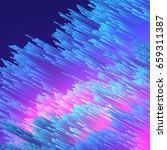 abstract fiber optics...   Shutterstock .eps vector #659311387