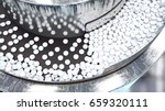 process of production of pills  ... | Shutterstock . vector #659320111
