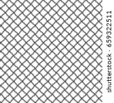 simple seamless lace mesh of... | Shutterstock . vector #659322511
