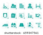 stylized architecture and... | Shutterstock .eps vector #659347561