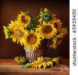 Still Life With Sunflower And...