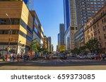new york city   usa  june 2016  ...   Shutterstock . vector #659373085