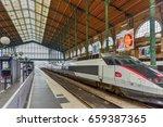 paris  france   may 13  2017 ... | Shutterstock . vector #659387365
