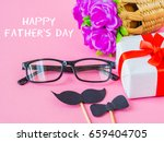 father's day concept. happy... | Shutterstock . vector #659404705