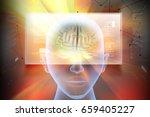 3d illustration of... | Shutterstock . vector #659405227