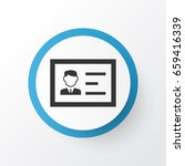 authentication icon symbol.... | Shutterstock .eps vector #659416339