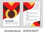 abstract vector layout... | Shutterstock .eps vector #659419657