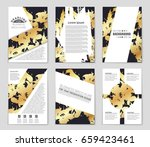 abstract vector layout... | Shutterstock .eps vector #659423461