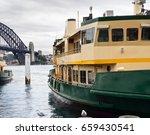 part of ferry boat in sydney... | Shutterstock . vector #659430541