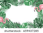 Tropical Exotic Border Frame...