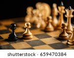 international day of chess ... | Shutterstock . vector #659470384
