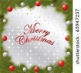 christmas frame   Shutterstock .eps vector #65947237