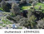 cyprus island nature. western... | Shutterstock . vector #659494201
