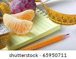 the concept photo of weight loss | Shutterstock . vector #65950711