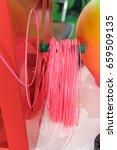 3d printing filaments | Shutterstock . vector #659509135