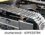 metal pendant excavator.... | Shutterstock . vector #659520784