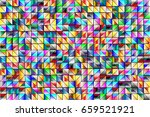 seamless pattern multi color... | Shutterstock .eps vector #659521921