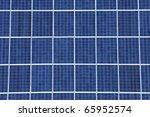 Foreground Of A Photovoltaic...