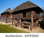 Old Traditional Romanian Barn...