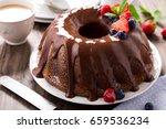 Chocolate Bundt Cake With...